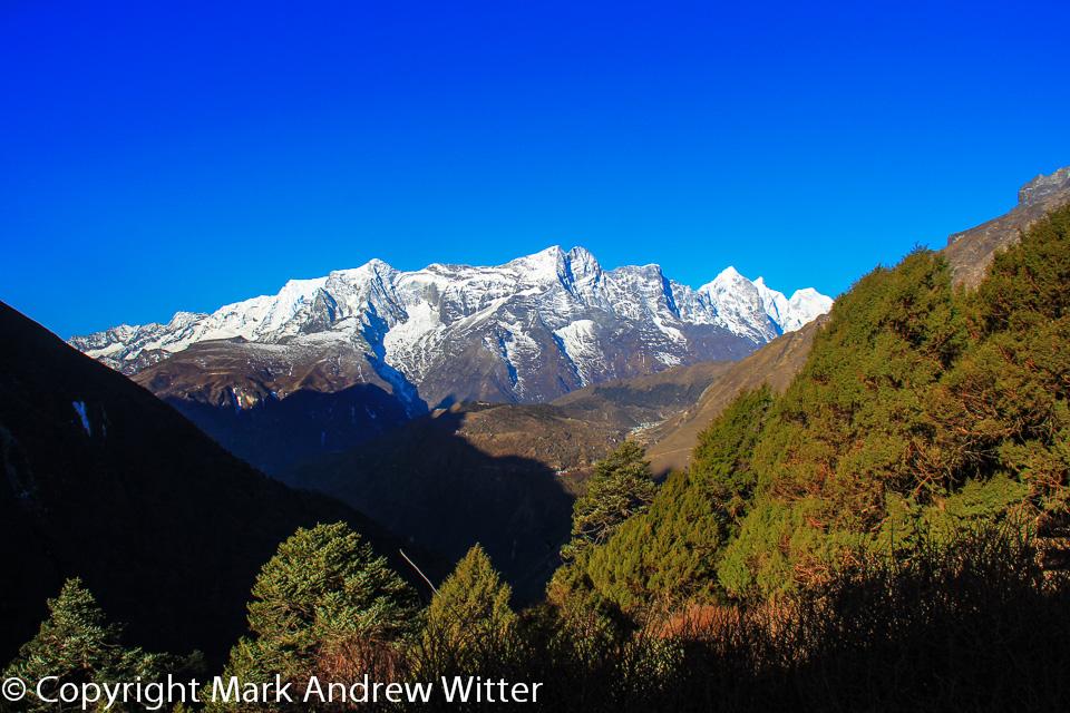 Kongde Ri in the Himalayas