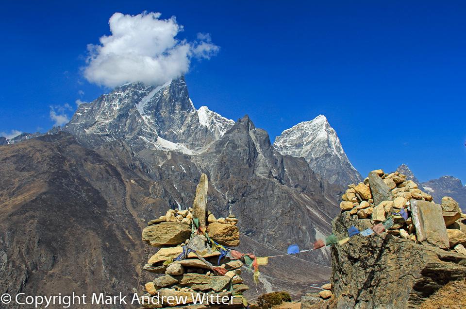 Nagartsang ridge - Tawoche Peak