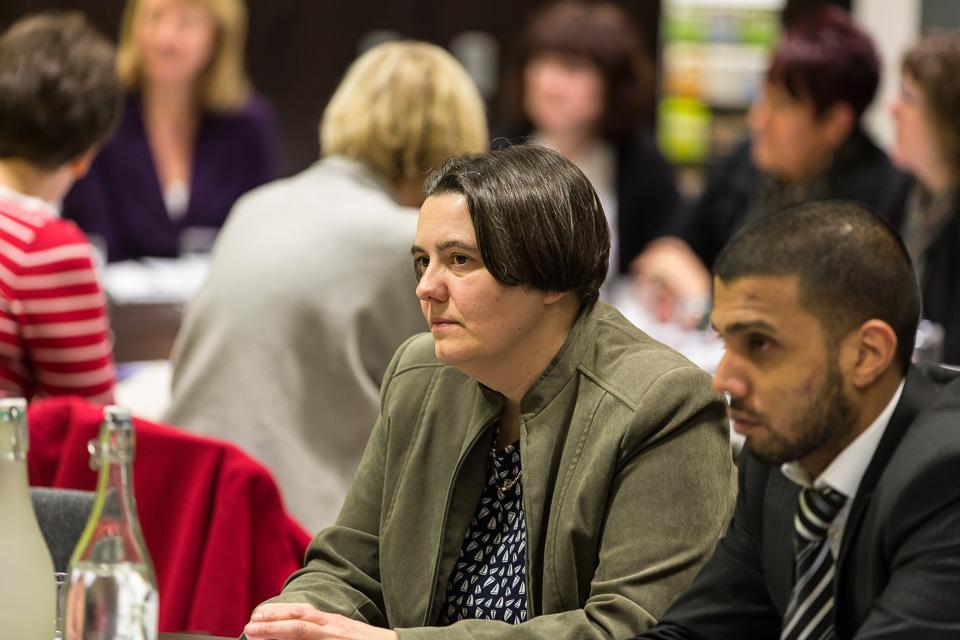 delegates listening to speaker