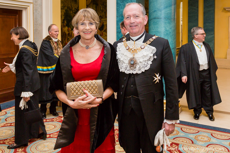 Alan Yarrow Lord Mayor of London 2014-15 at the Cordwainers' Livery Dinner