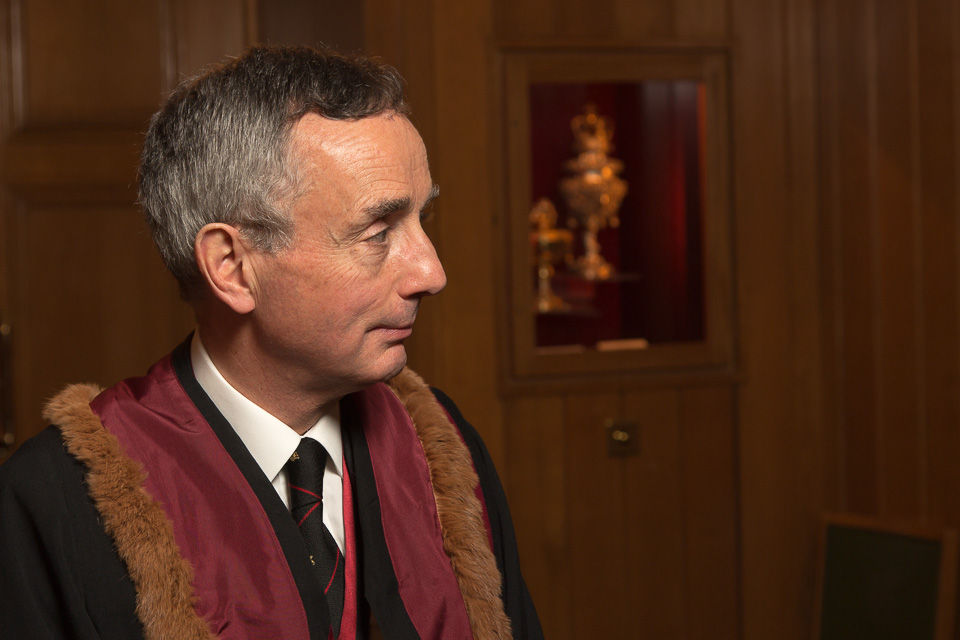 Liveryman at event in London