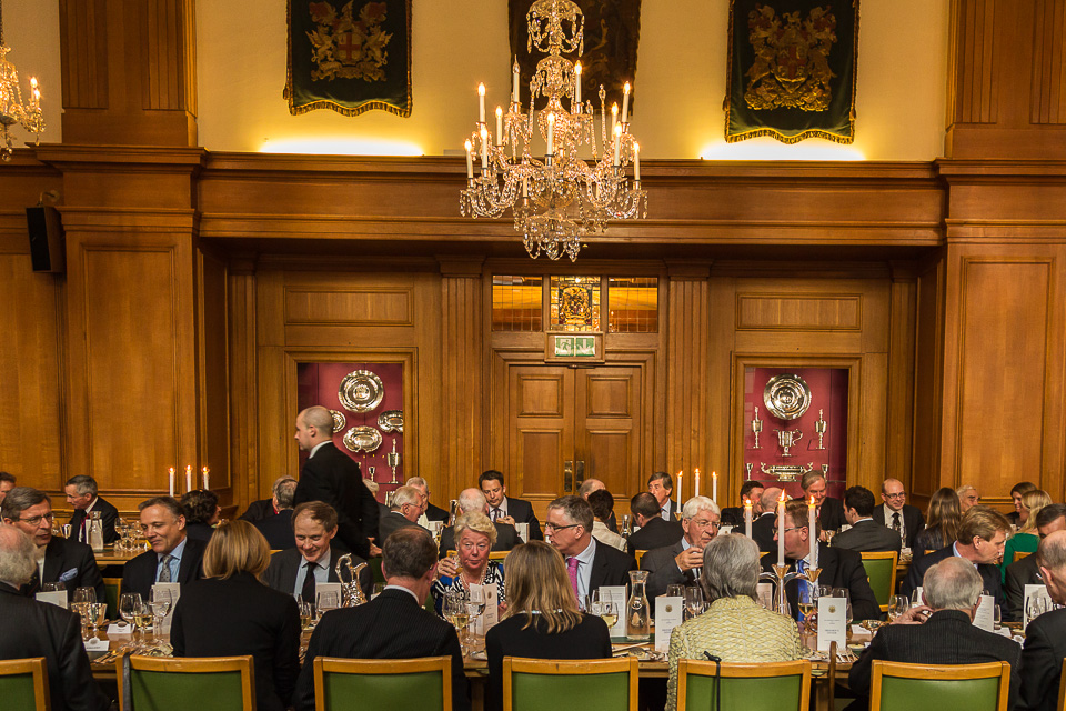 Barber Surgeons' Hall Dinner event