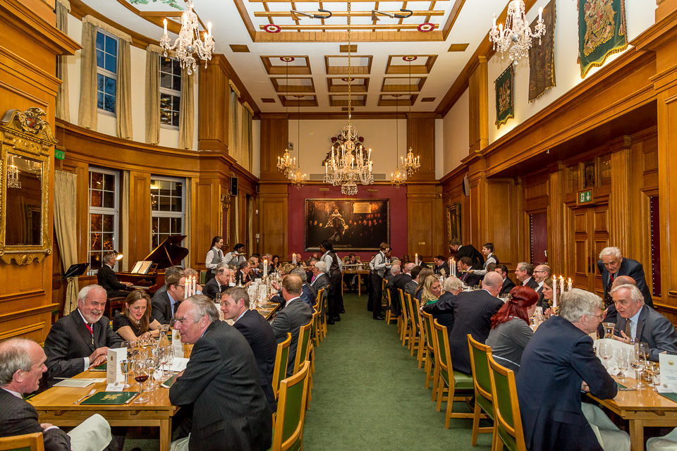 Barber's Hall Dinner event