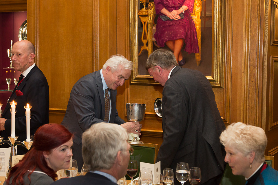bowing at livery company ceremony