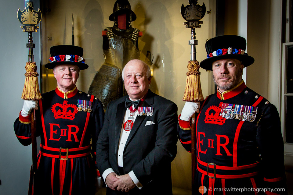 Colin Smith MBE BEM FIH Yeoman Warder at HM Tower of London
