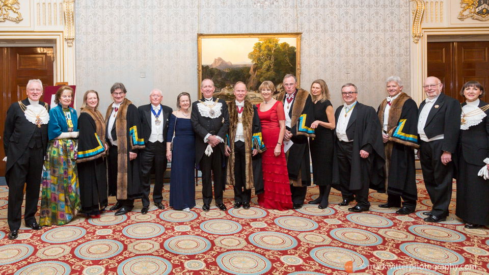 Lord Mayor at Past Wardens Dinner
