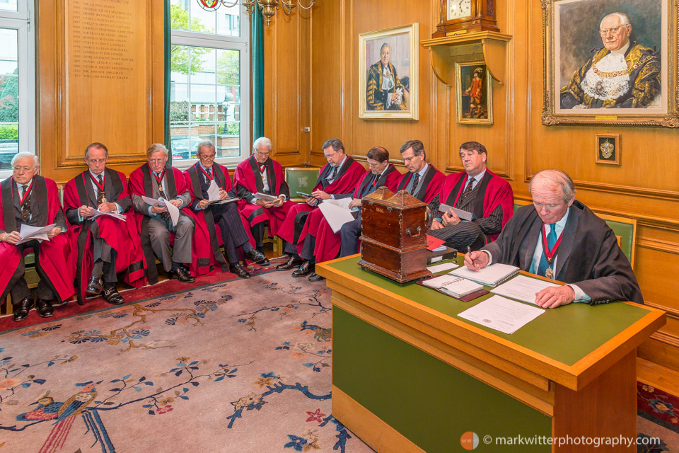 Court meeting of the Worshipful Company of Barbers