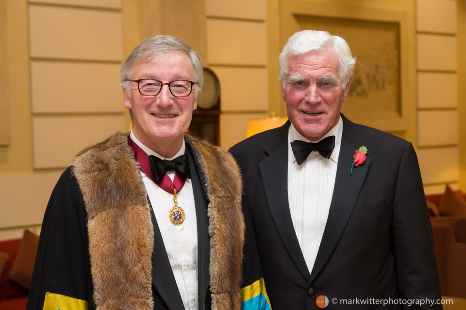 Liverymen at the Fusiliers' Dinner