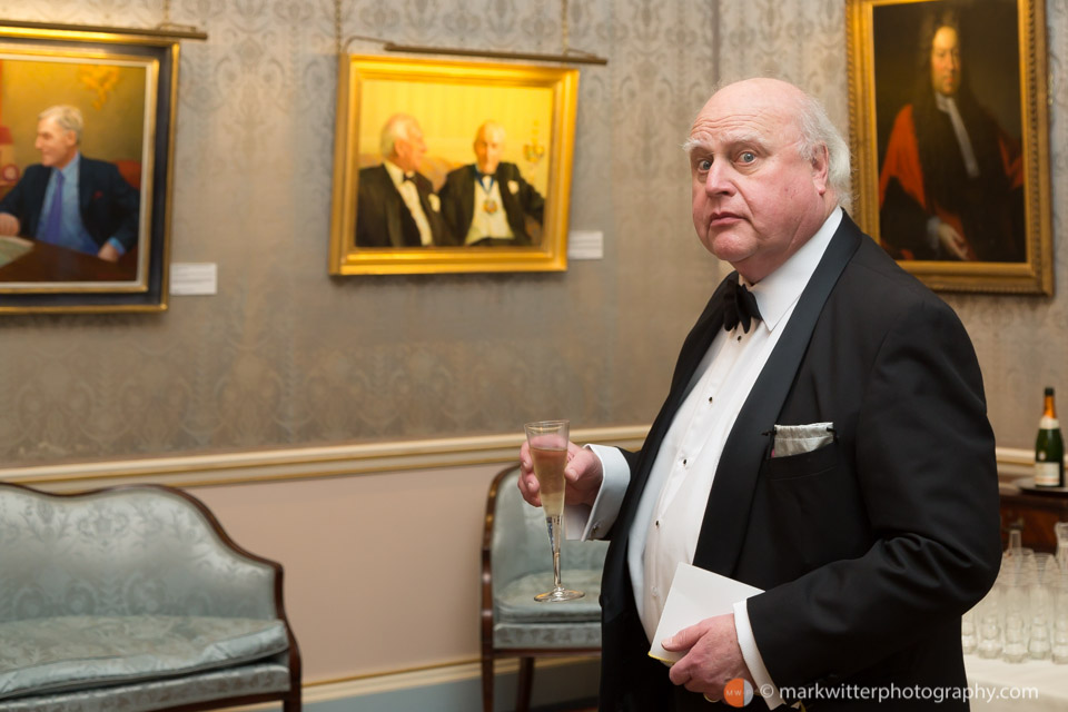 Guest at the Clothworkers' Hall