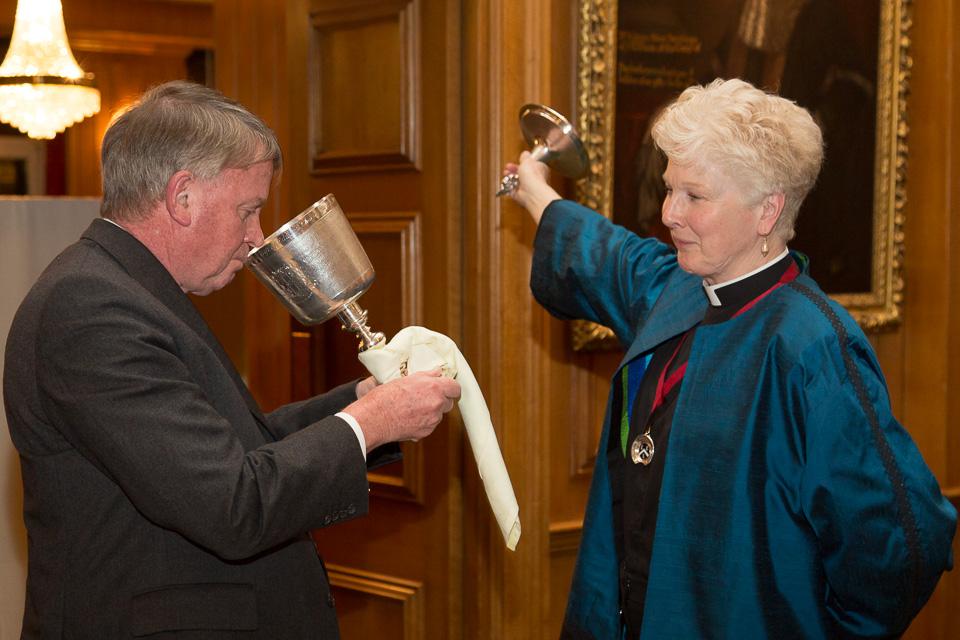 Katharine Rumens Rector of St Giles Church Cripplegat
