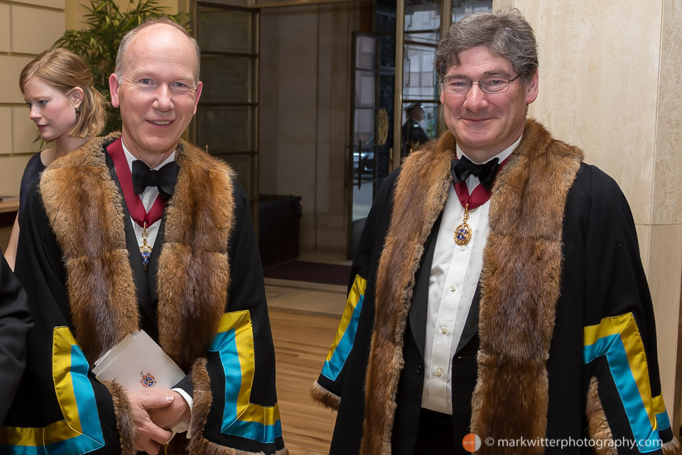 Lance Shaw and John Rubinstein of the Worshipful Company of Cordwainers
