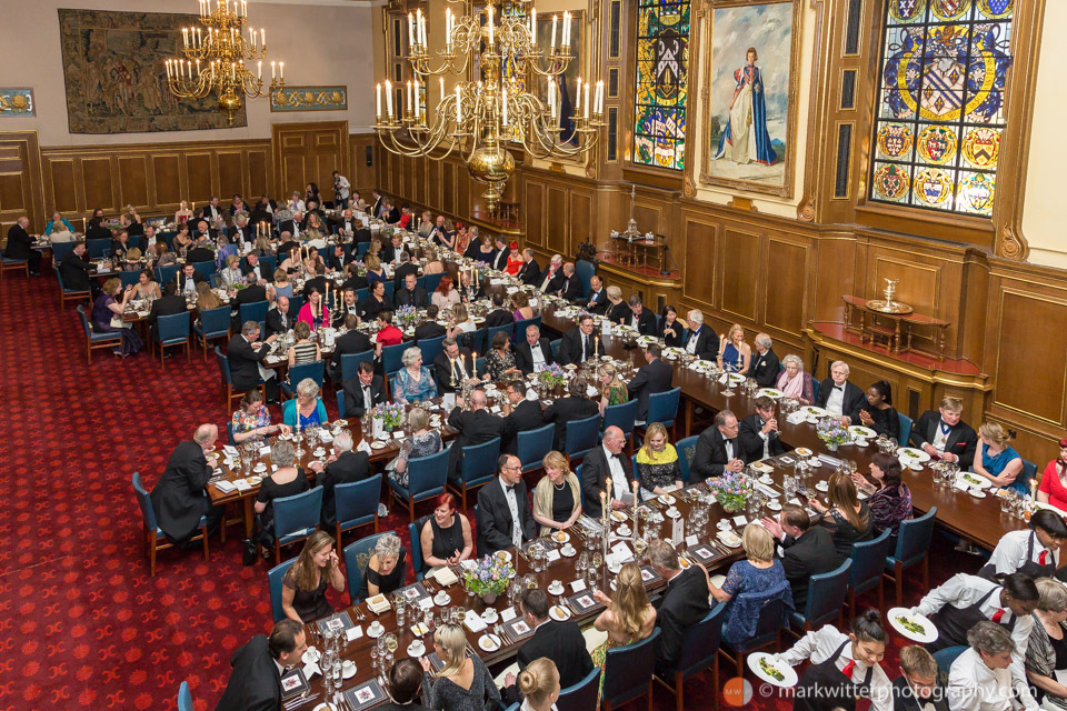 Livery Company Banquet at The Clothworkers' Hall