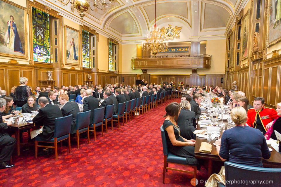 Banquet at the Clothworkers' Hall