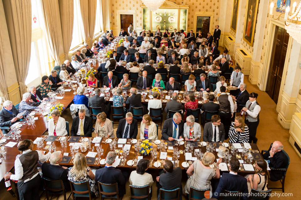 Banquet at the Saddlers' Hall