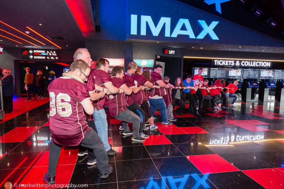 Tug of War Challenge at Cineworld