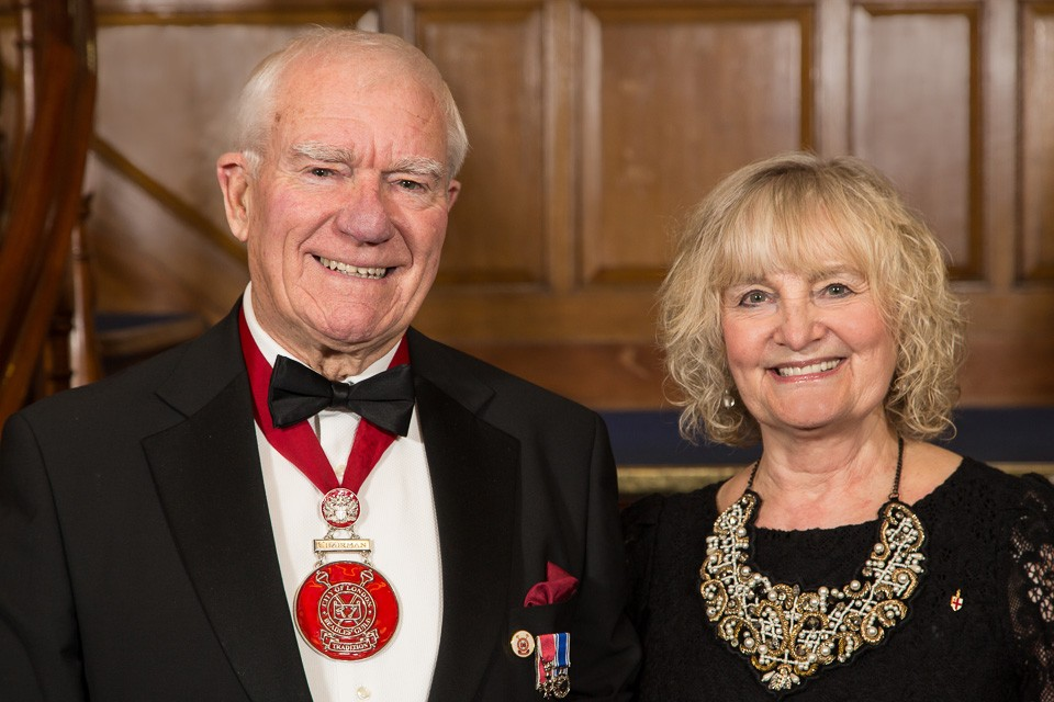 Chairman of Beadles Guild and his wife
