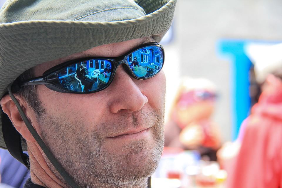 mark witter in Sunglasses in Nepal