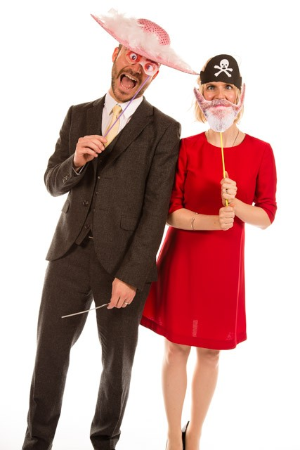 Mobile Photo Studio London - fancy dress couple