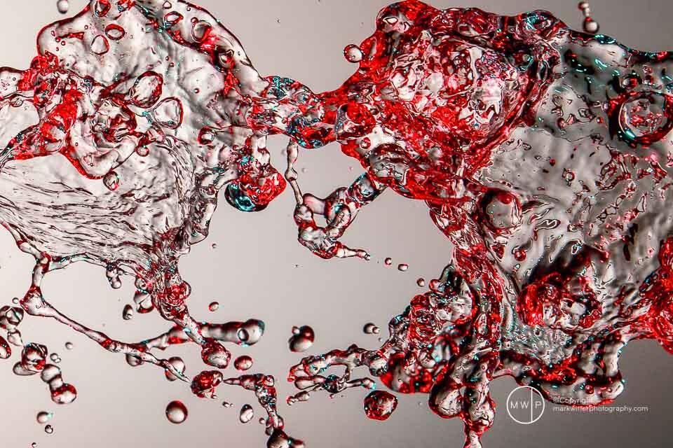 Commercial Photographer water splash