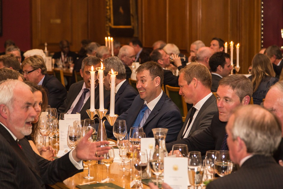 Diners at Livery company event