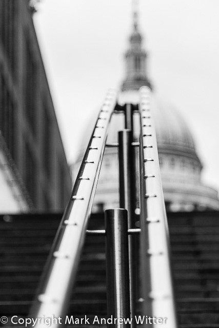Hand rails at St Paul's Cathedral